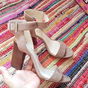 Nine west suede heels sandals #6